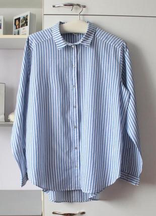 Классная оверсайз рубашка от h&m