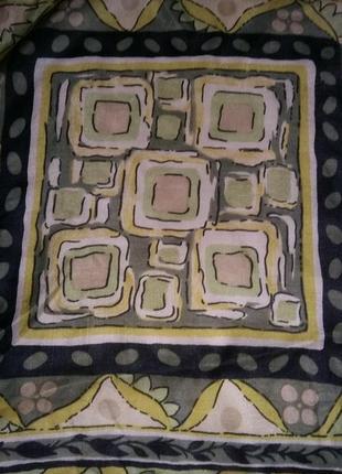 Шелковый шейный платок.италия