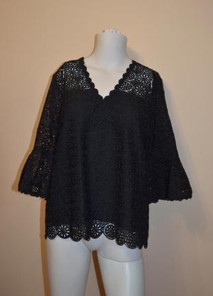 Шикарная кружевная блуза somerset alice temperley