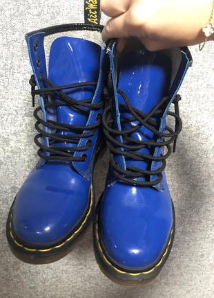 Ботинки, сапоги dr martens royal blue оригинал
