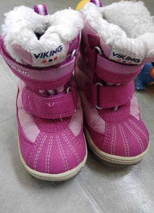 20р viking gore-tex теплющие зимние термо сапоги