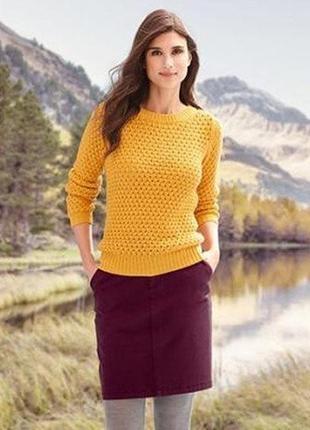 Комфортная юбка бордо, евро р-р 36 и 40, наш 42-44 и 46-48 от tcm, tchibo, германия
