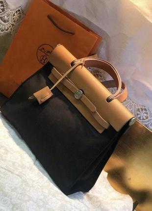 Шикарная сумочка hermès -herbag 31 (оригинал)