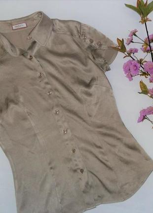 Шелковая рубашка блузка max &co max mara оригинал