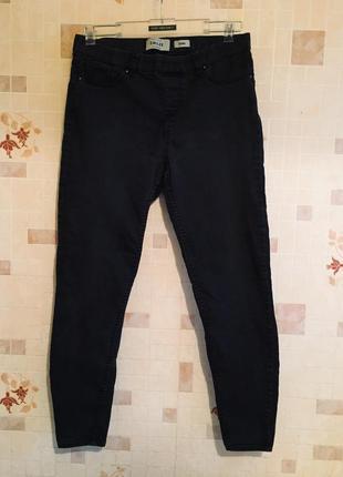 Чёрные джинсы скинни / скины / джеггинсы 🔥