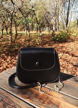 Модная сумочка, цвет черный