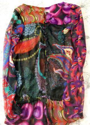 Шифоновая блуза desigual