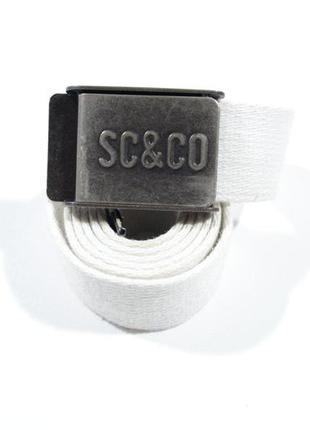 Мужской тканевый ремень с открывашкой sc&co