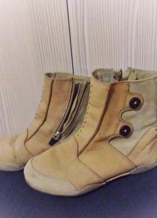 Распродажа! осенние ботинки замшевые hi-tec 36 размер