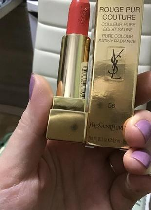 Помада ysl rouge our couture 56
