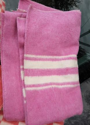 Новое байковое одеяло из 100% хлопка, ссср, коц, ковдра