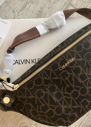 Новая поясная сумка бананка calvin klein оригинал