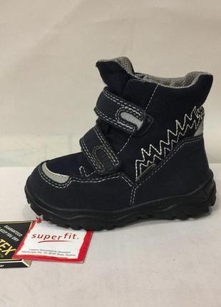 Ботинки зимние сапожки черевики суперфит superfit gore-tex р.23