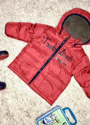 Класна тепла курточка від timberland!