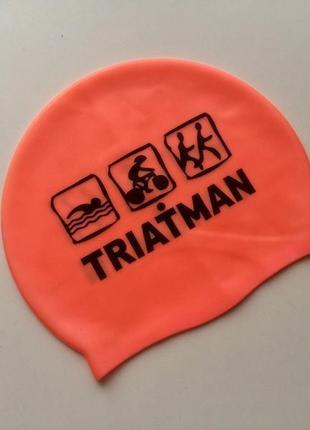 Шапочка для плавания triatman