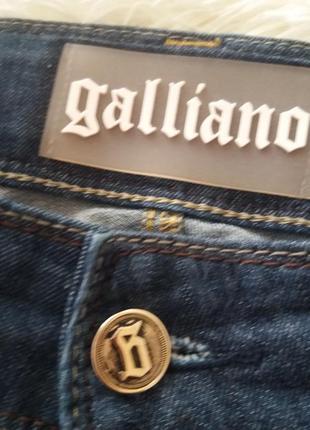 Длинные джинсики galliano