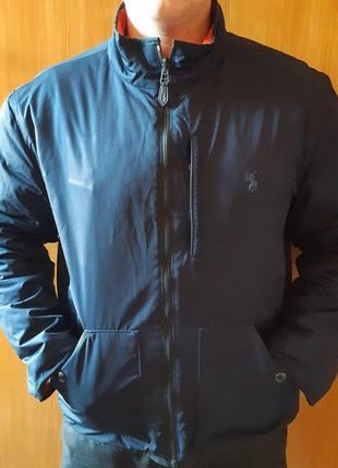 Отличная куртка от известного бренда polo ralph louren
