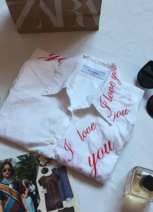 Белая рубашка victor&rolf