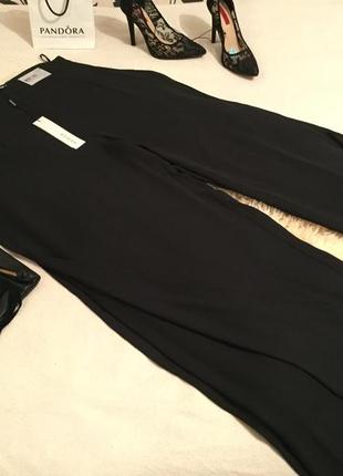 Мега роскошные брюки - юбка с завышенной посадкой и разрезами по бокам 48€ 👠❤️🌹