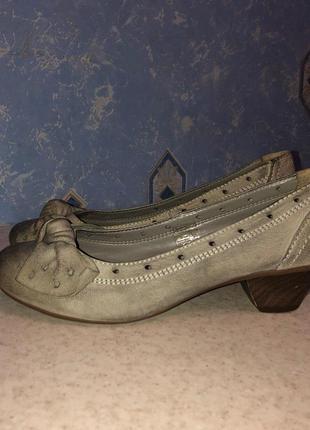 Кожаные туфли roberto santi 36