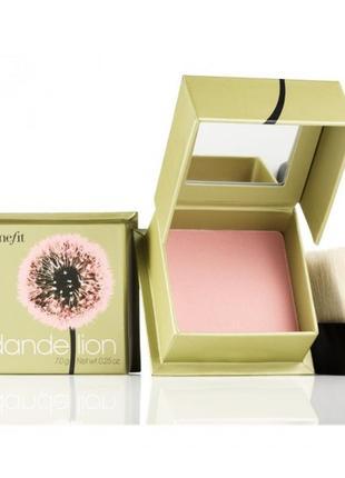 Румяна benefit dandelion осветляющая пудра для лица оригинал