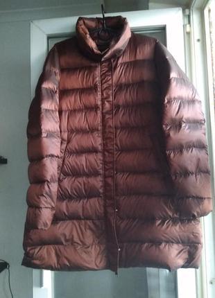 Пуховое пальто leonardo (оригинал)