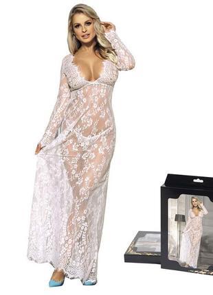 51 кружевное платье / прозрачный пеньюар / парео /сексуальное белье/