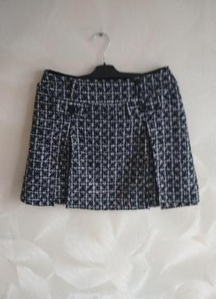 Классная стильная теплая мини юбка jessica