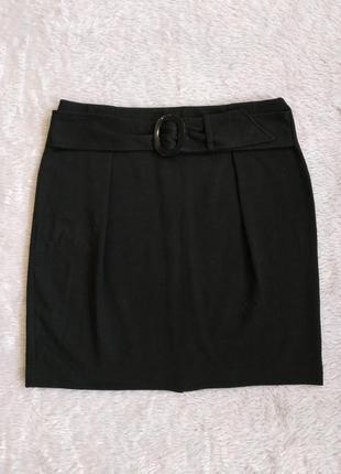 Женская теплая юбка, черная