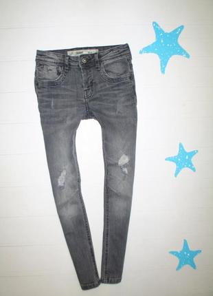 Джинсы skinny denim go на 7-8л