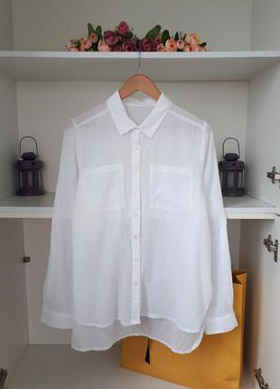 Хлопковая рубашка  блузка atmosphere