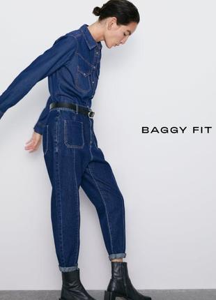 Zara baggy jeans! новая коллекция