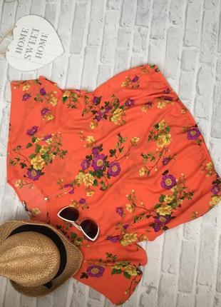 Шикарная блуза цветочный принт george р. 46