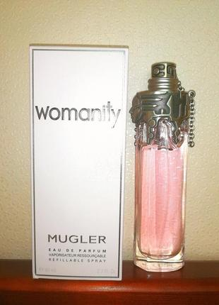 Mugler. womanity.