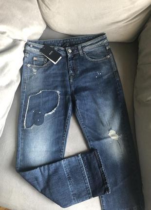 Новые стильные джинсы armani jeans (оригинал) massimo dutti, zara, michael kors