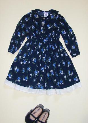 Вискозное платье малышке 2-3 лет