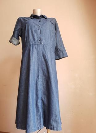 Платье джинс каманы charles vogele швеция
