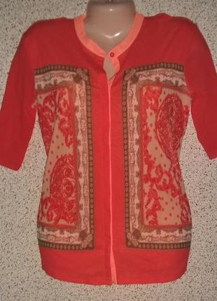 Яркая модная  блузка футболка от бренда marc aurel оригинал германия