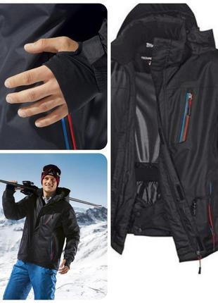 Мужская лыжная термо куртка. мембрана. германия.