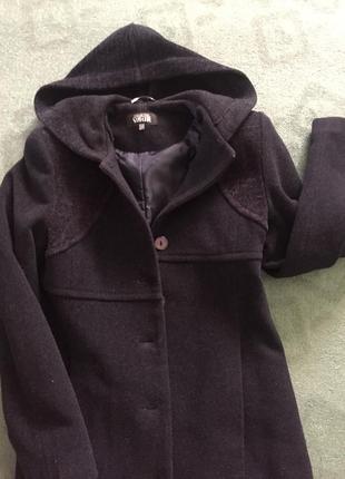 Шерстяное пальто/макси пальто/длинное пальто 70% шерсти