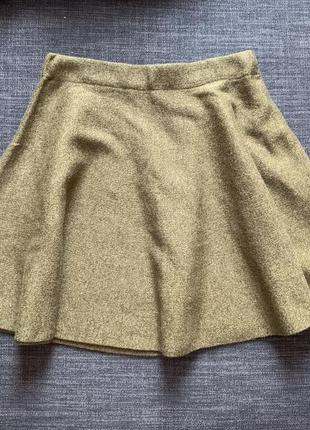 Тёплая юбка-солнце