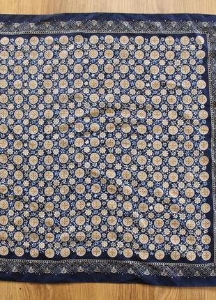 Монограмный мелкий карманные шелковый платок jago италия