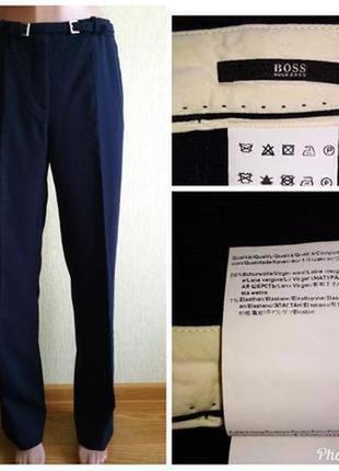 Брендовые брюки из тонкой шерсти,р.38-40