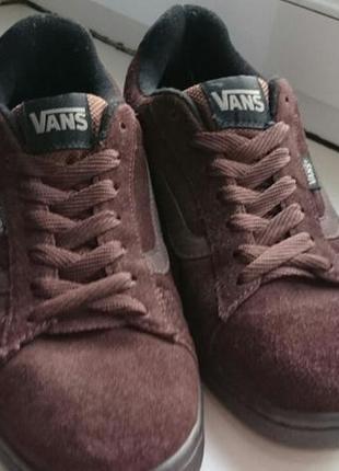 Осенние кросы vans