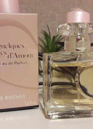 Парфюм quelques notes d'amour от yves rocher