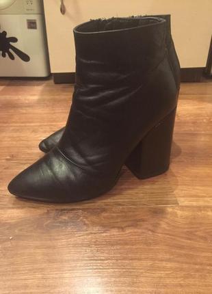 Ботиночки,полусапожки кожаные