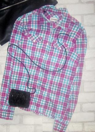 Крутецкая рубашка в клетку