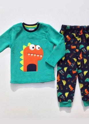Любимая пижама мальчику флис динозавр 🦕 primark р.86,92