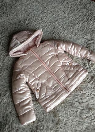 Курточка dunnes розовое золото