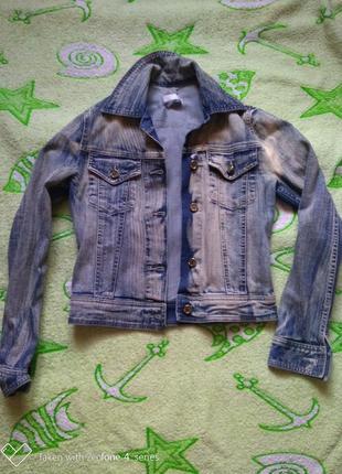 Курточка джинсовая roberto cavalli